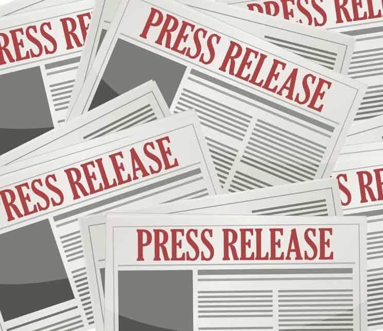 Proven results that the press release is not dead